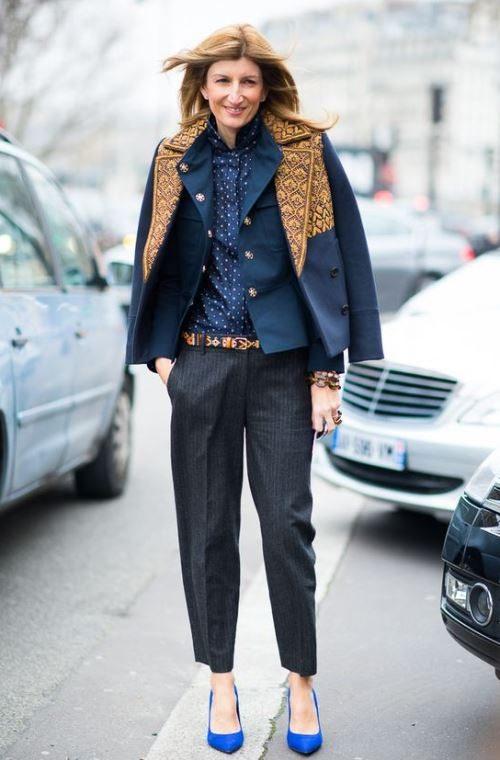Сара Ратсон в наряде от бельгийского дизайнера Dries van Noten