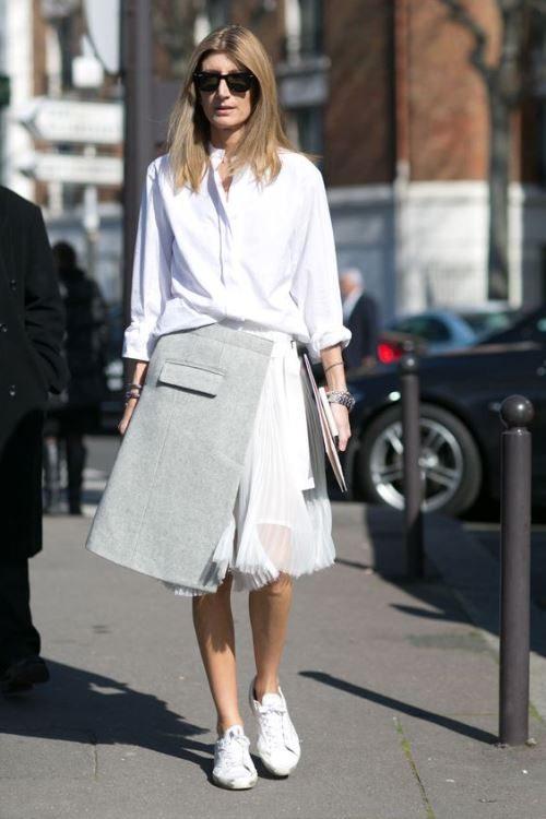 Сара Ратсон на неделе моды в Париже