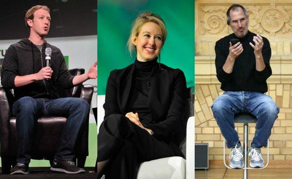 Стива Джобса, Марка Цукерберга и Элизабет Холмс объединяет стиль «нормкор» — обычные повседневные вещи, нечто очень простое и незамысловатое