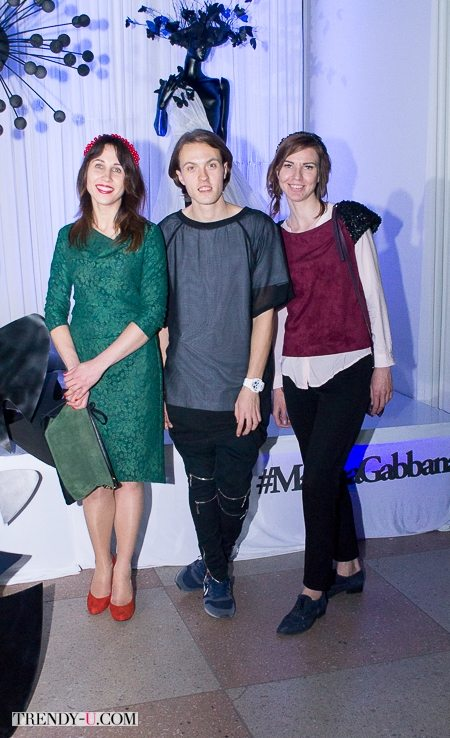 Посередине - Денис Короткий, организатор Odessa Fashion Day и дизайнер бренда КЕКА