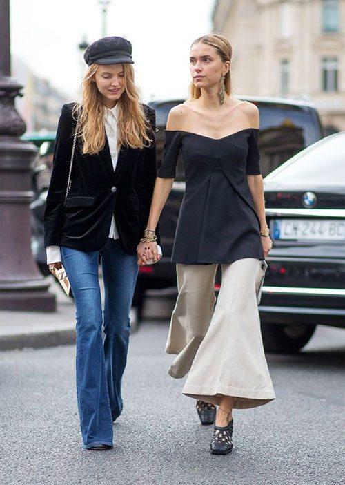 Модницы в городе!