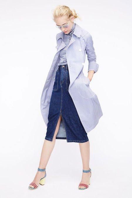 Стильная юбка из денима и вообще все