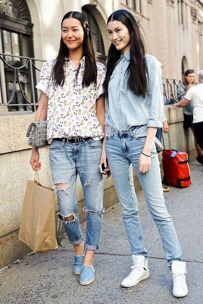 Японки носят деним