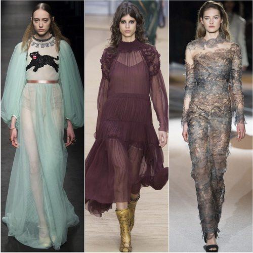 Бельевой стиль в коллекциях осень-зима 2016-2017 Gucci, Chloe и Ermanno Scervino