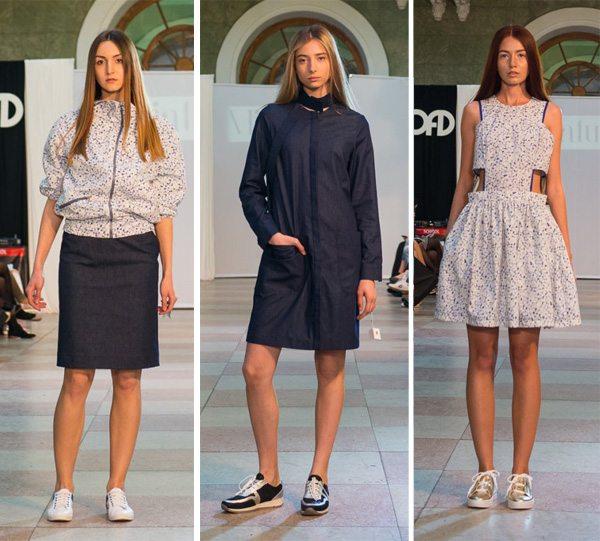 Одежда в спортивном стиле от украинского бренда Miniature осень-зима 2016-2017