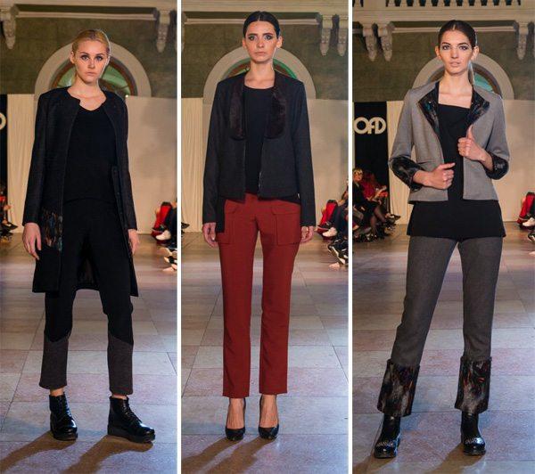 Женские костюмы из осенне-зимней коллекции Osipov на 13th Odessa Fashion Day
