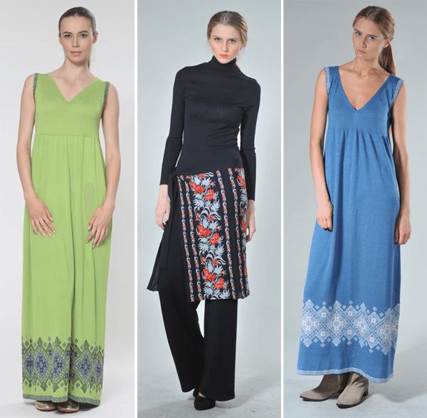 Стильная одежда в этническом стиле