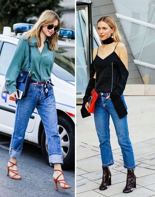 Вот так носить джинсы летом и осенью 2016!