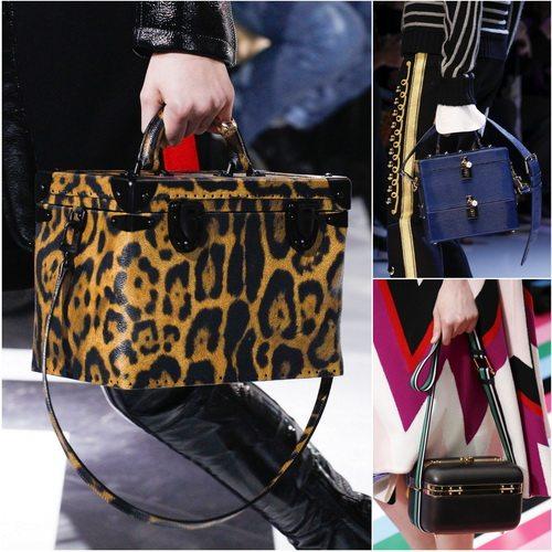 Louis Vuitton, Dolce&Gabbana и Salvatore Ferragamo: сумки-сундуки популярны в сезоне осень-зима 2016-17
