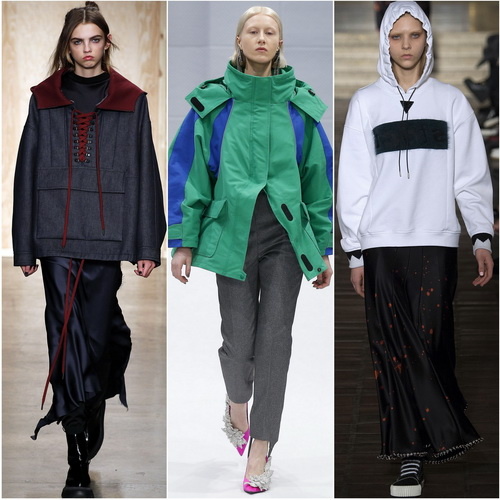 Спортивный стиль на пике моды осенью-зимой 2016-2017: DKNY, Balenciaga, Alexander Wang