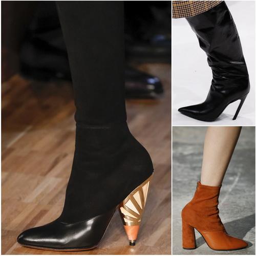 Обувной тренд осени-зимы 2016-17 - каблук необычной формы: Givenchy, Balenciaga, 3.1. Phillip Lim