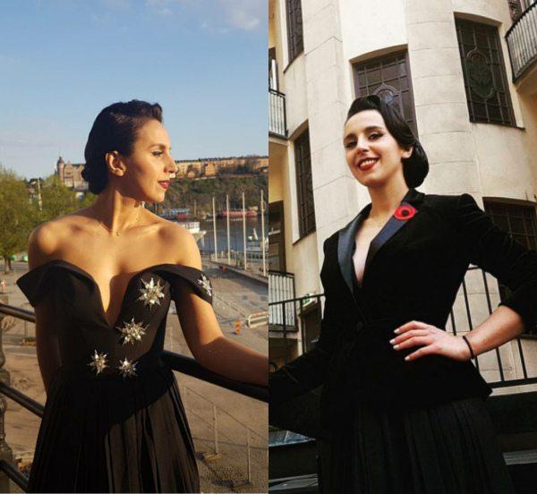 Джамала в платье и костюме от ARTEMKLIMCHUK