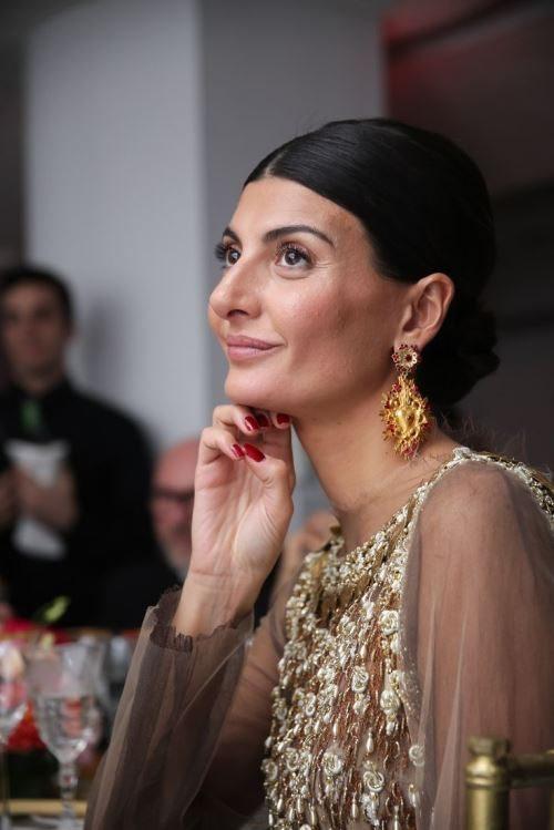 Естественный макияж Giovanna Battaglia