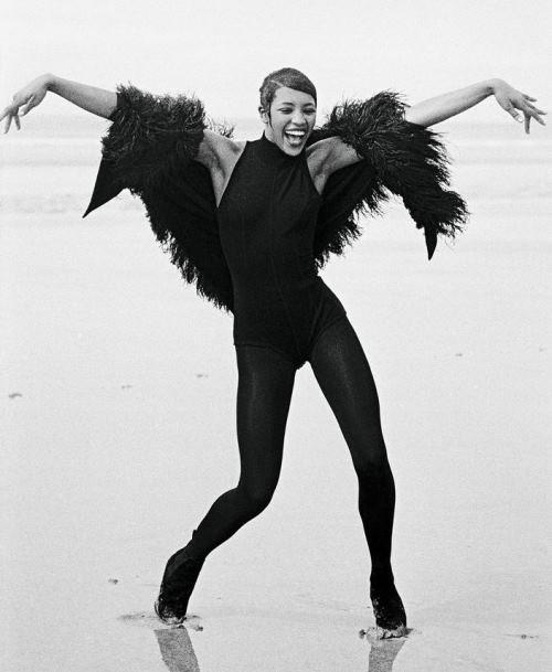 Наоми Кэмпбелл — модель с 15 лет