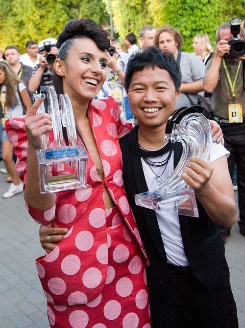 Джамала разделила первое место на «Новой волне-2009» с певцом из Индонезии