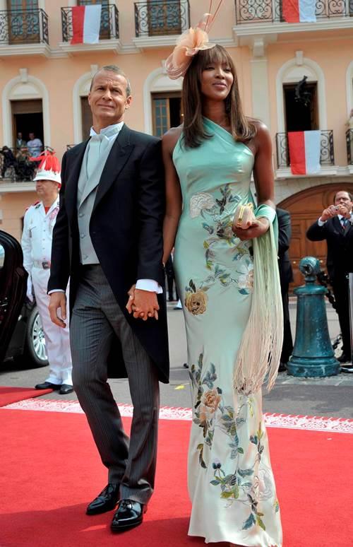 Наоми Кэмпбелл свадьба — фото с Владиславом Дорониным со свадьбы князя Монако Альберта