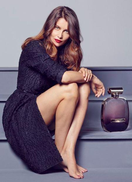 Летиция Каста в рекламе аромата L'Extase от Nina Ricci