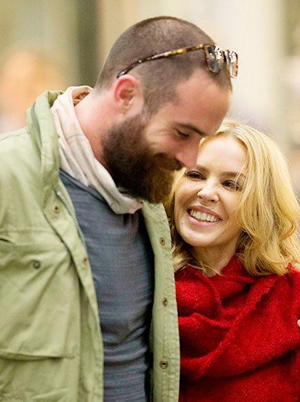 Кайли Миноуг и ее возлюбленный Джошуа Сасс