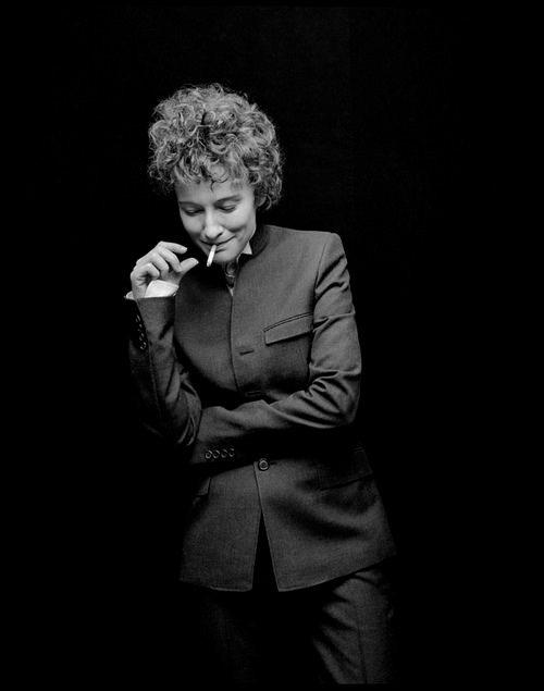 Кейт Бланшетт в фильме «Меня там нет» в роли Боба Дилана, 2007 г.