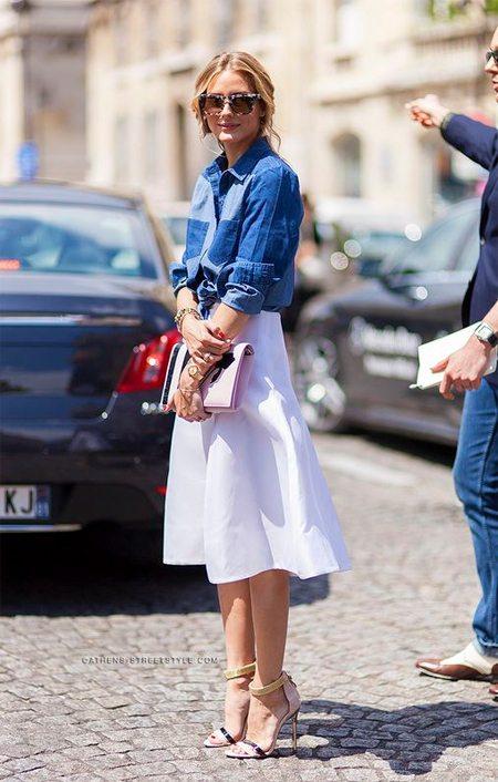 Модные look'и для лета 2016: как одевается сейчас Оливия Палермо