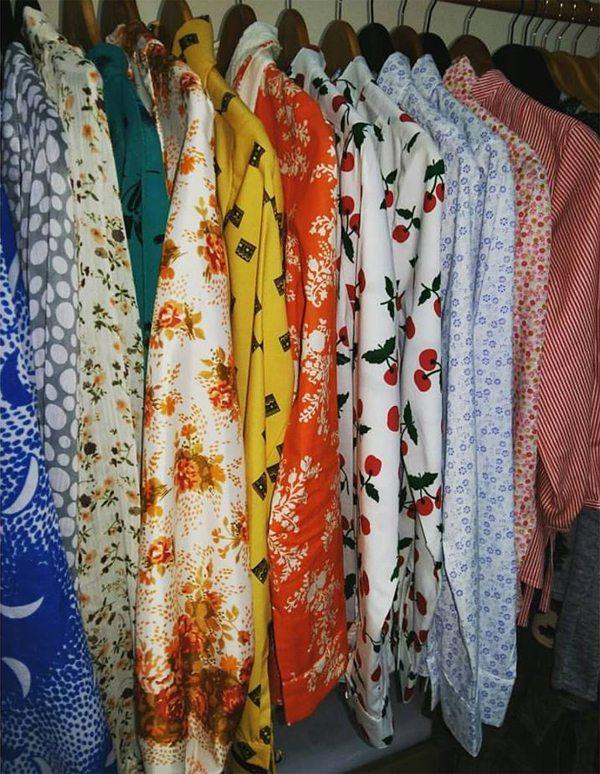 В студии дизайнерской одежды Надежды Сорочан