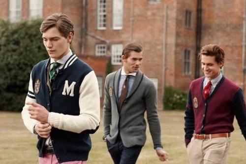 Одежда для мужчин в стиле преппи