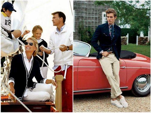 Стиль преппи вырос из элитной школьный моды