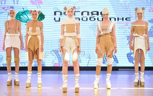 Показ модной одежды украинского дизайнера Натальи Кравченко