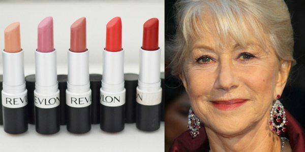 Макияж за 50 лет для женщин (фото) предполагает использование насыщенных пигментированных помад естественных оттенков. На фото слева — оттенки матовой помады Revlon Matte Lipstick