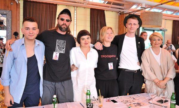 В составе компетентного жюри конкурса «Погляд у майбутнє» — именитые украинские дизайнеры