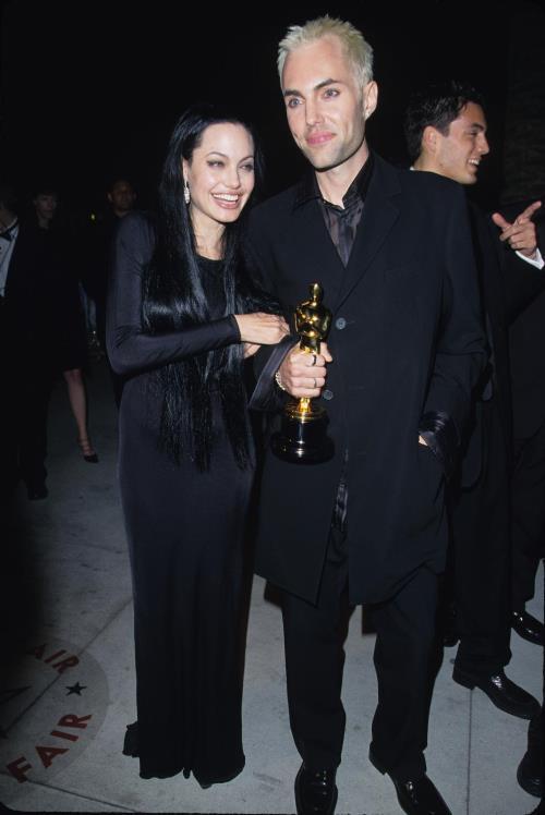 Анджелина Джоли с братом Джеймсом — идеальные готические образы