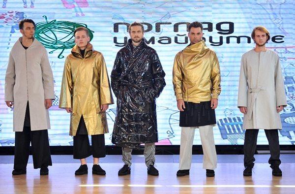 Крымчанин Владимир Найденов занял второе место и показал модную одежду осень-зима 2016-2017