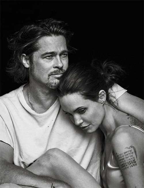 Анджелина Джоли и Бред Питт, 2016