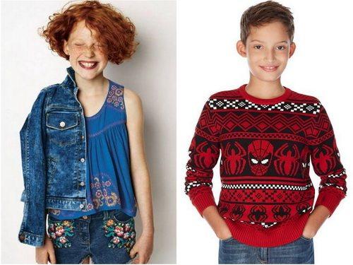Marks&Spencer - детская одежда от британской компании