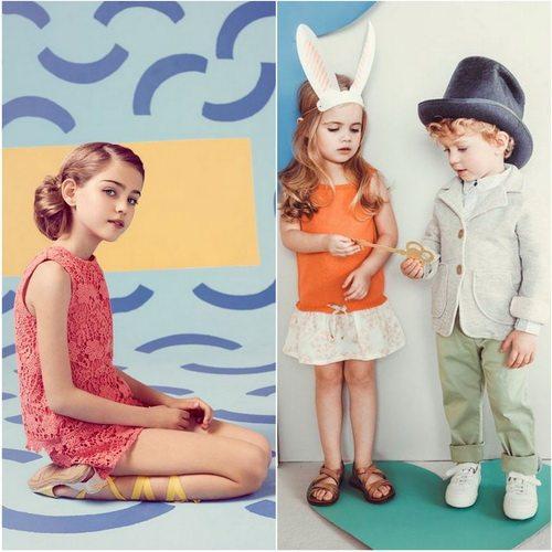 Нежные коллекции детской одежды от модного бренда Mango