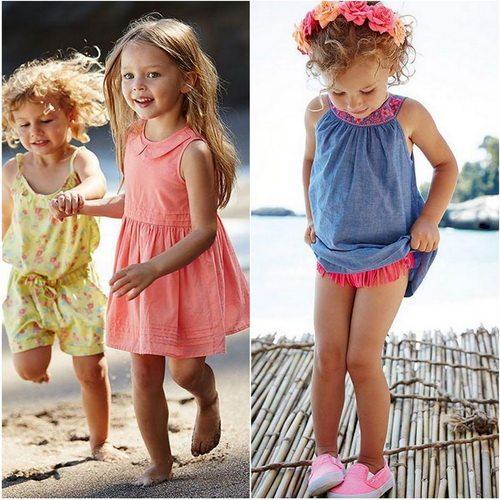 Детская одежда от итальянского производителя Benetton - яркая и удобная