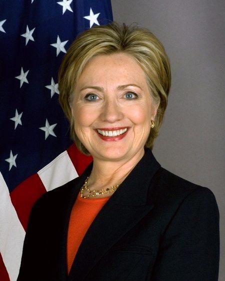 Хиллари Клинтон — первая женщина-кандидат в президенты США