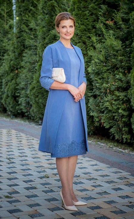 Марина Порошенко в одежде украинского дизайнера Виктории Гресь на инаугурации