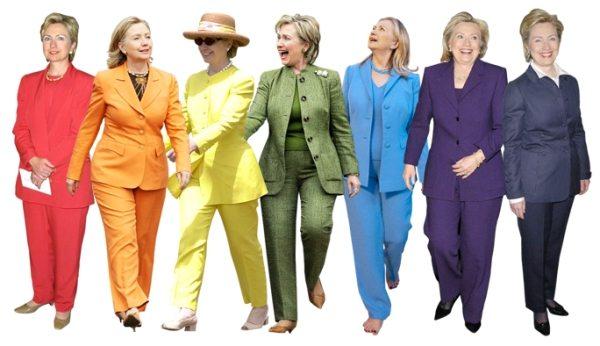 Чрезмерное увлечение Хиллари брючными костюмами раскритиковала Донателла Версаче