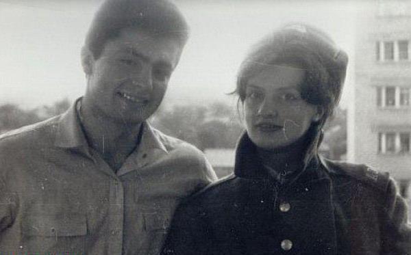 Марина Порошенко в молодости с супругом Петром Порошенко