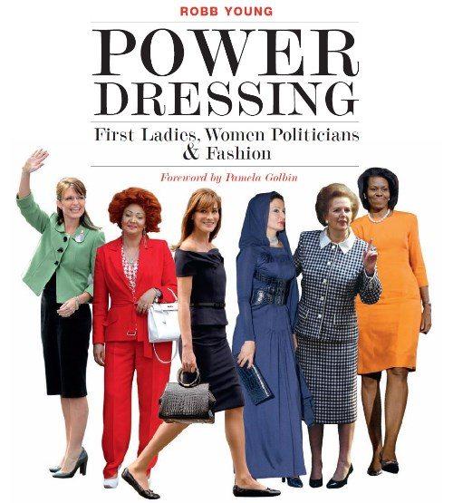 Обложка книги Робба Янга Power Dressing о стиле женщин-политиков, первых леди и бизнесвумен