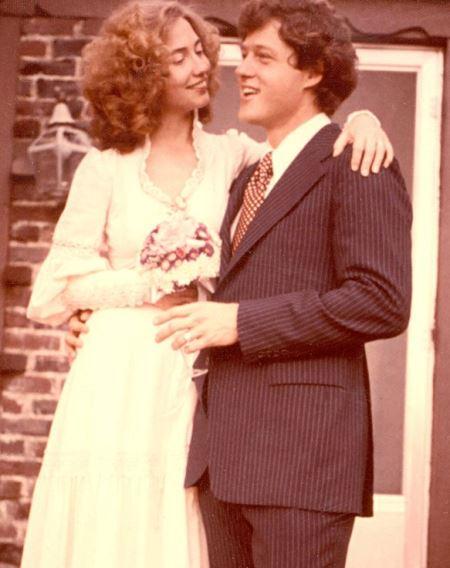 Хиллари и Билл: свадьба состоялась в 1975 году