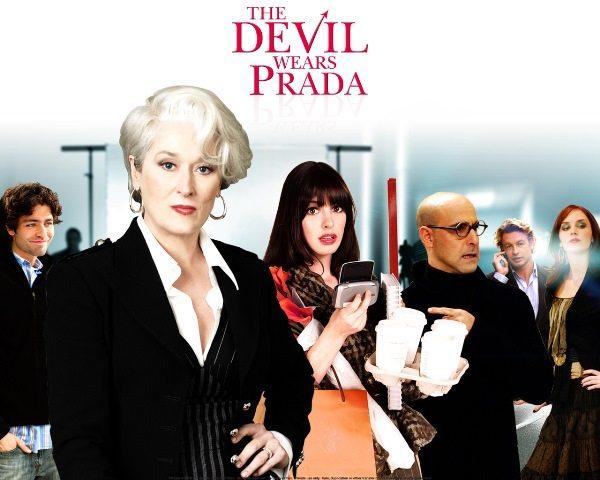 Мэрил Стрип в роли Миранды Пристли, прототипом которой стала Анна Винтур