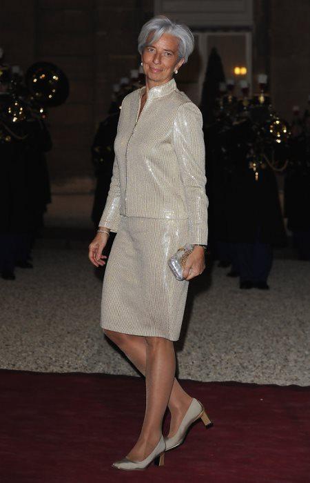 Деловой стиль одежды Кристин Лагард высоко ценится критиками