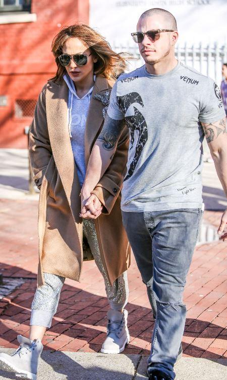 Дженнифер Лопес и Каспер Смарт, ее нынешний бойфренд