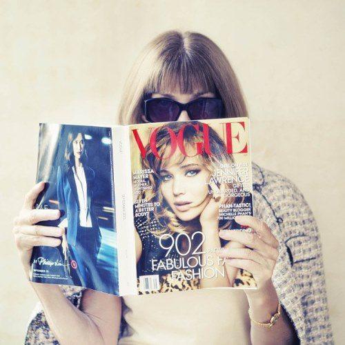 Фото Анна Винтур — инстаграм Vogue