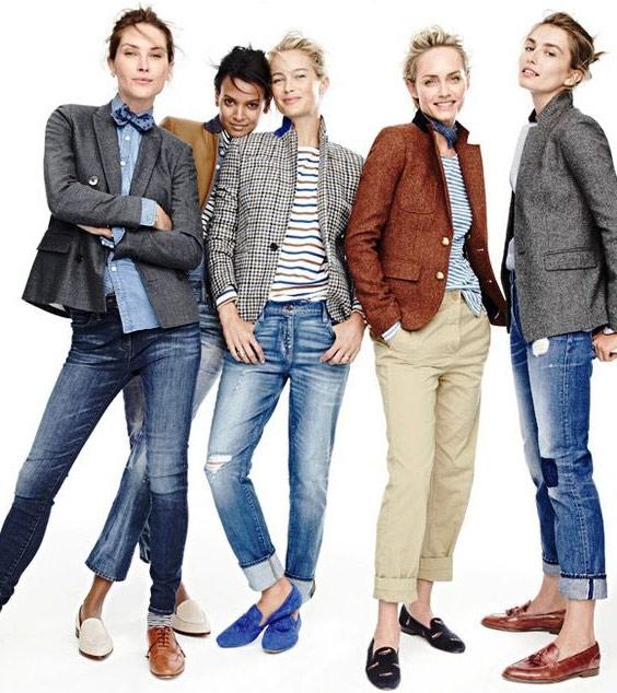 Жакеты и джинсы: стильная парочка!