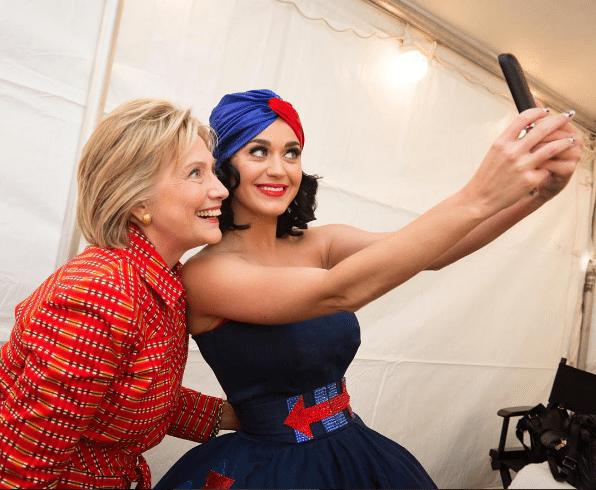 Инстаграм Хиллари Клинтон: в жакет с принтом