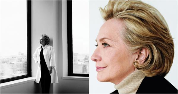 Хиллари Клинтон снялась для Vogue