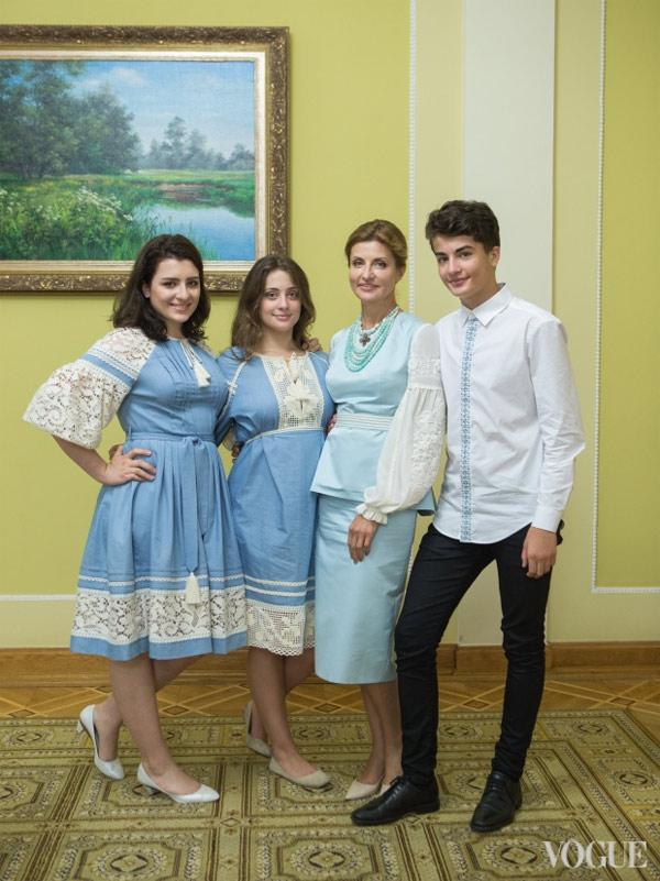 Наряд Марины Порошенко на День Независимости Украины 2016